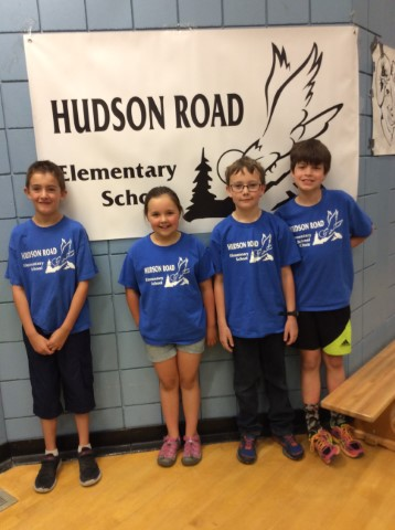 Grade 4 Battle of the Books students
