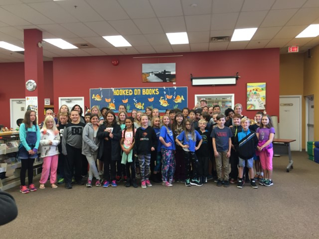 Meeting Author Sara Ellis at the Westbank Public Library